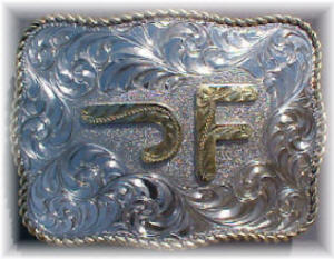custom belt buckle with personalized brand